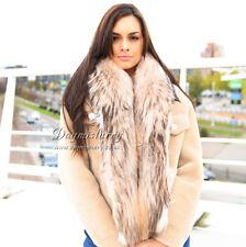 Large Detachable Finn Raccoon Fur Collar