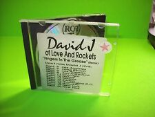 David J – Fingers In The Grease (Remix) CD Post-Punk Love And Rockets PROMO