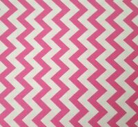 Chevron Chic Studio 8 BTY Quilting Treasures Pink and White