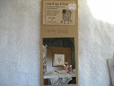 EWE & EWE & FRIENDS!! Spring Basket!  Cross Stitch Chart!