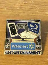 Rare Walmart Lapel Pin Entertainment Department Spark Wal-mart Pinback