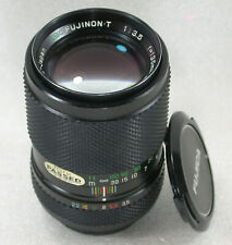 Fuji EBC FUJINON-T 135mm F3.5 Telephoto Lens Pentax Screw Fit M42 No. 458944