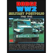 Dodge WW2 Military Portfolio 1940-1945 book paper