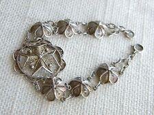 """Bracciale Filigrana Croce di Malta argento ~ 7"""" = 18 cm di lunghezza ~ BELLA"""