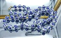 Vintage Chinese Porcelain beads necklace