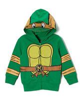 NWT Teenage Mutant Ninja Michelangelo Turtles Boys Hoodie Hooded Sweatshirt