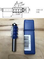 """Tideway Carbide Pro WL1376 1//2/""""X1-1//4/"""" Round Nose 1//2/"""" shank router bit"""