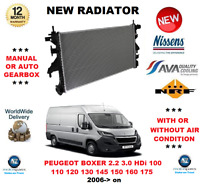FOR PEUGEOT BOXER 2.2 3.0 HDi 100 110 120 130 145 150 160 175 2006> NEW RADIATOR