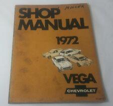 1972 Chevy Vega Shop Manual St-300-72