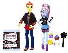 Monster High Heath Burns & Abbey Bominable KOCHPARTNER Sammlerpuppe SELTEN BBC82