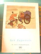 L'Art Japonais II Les E-Makimonos Alain Lempière petite encyclopédie de l'art