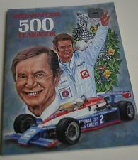 1978 HUNGNESS YEARBOOK INDY 500 INDIANAPOLIS 500 AL UNSER SR. RUTHERFORD