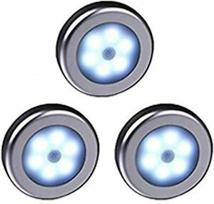 Movement Motion Sensor Night Lights LEDs for Closet Cupboard Stairs Wardrobe New