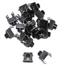 Interruptor plano pulsador / Tactile Switch 6x6x6mm 4 pin x20 units