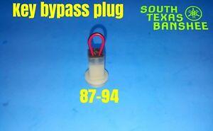87-94 Yamaha Banshee round plug key bypass plug