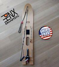 PHNX Boards Snurfer backyard snowboard with patented binding/brake system