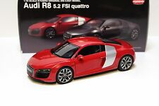 1:18 Kyosho Audi R8 5.2 FSI Quattro Coupe red NEW at PREMIUM-MODELCARS
