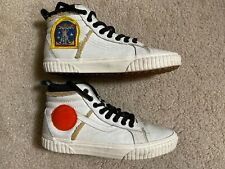 Vans X NASA Sk8-Hi MTE Space Voyager Mens White High Top Shoes 9.0 / Womens 10.5