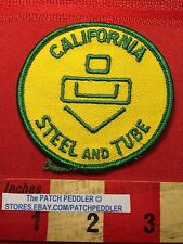 CALIFORNIA STEEL & TUBE PATCH ~ City Of Industry CA 62T5