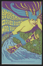 Bill Graham #BG 87 & #88 DOUBLE Post Card Mailer, Fillmore/Winterland, 1967