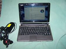 "Acer Aspire One KAV60 D250 10,1 ""Netbook webcam wifi Skype, bon état de fonctionnement"