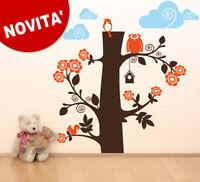 00190 Wall Stickers sticker  Cameretta bimbo Albero con gufo 144x150 cm