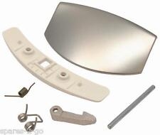 AEG Washing Machine Door Handle Catch Kit In Silver 50277722000