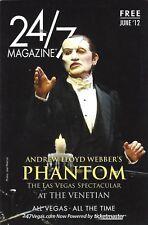 "Anthony Crivello ""PHANTOM OF THE OPERA"" Andrew Lloyd Webber 2012 Las Vegas Book"