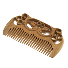 Handmade Massage Handcrafted Natural Wooden Hair Comb Sandalwood Anti-static