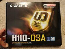 GIGABYTE GA-H110-D3A LGA 1151 Motherboard and Crypto Mining starter kit