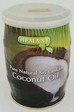 Hemani Pure Natural Herbal Sri Lankan - Halal - Coconut Oil (13.5oz) Edible Oil.
