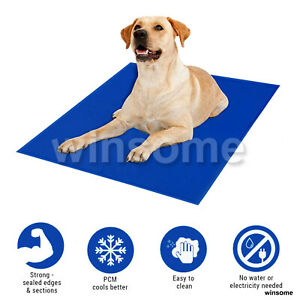 45 X 60 cm Portable Pet Cooling Pillow Mat Dogs Cat Puppy Self Cool Gel Pads Bed