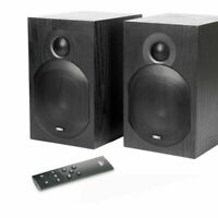 TIBO Plus 3.1 Bookshelf Active Speakers - Powered Compact Bluetooth Remote 2X55W