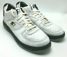Starter Men's Machine II Sneakers Leather White Tennis Shoes 002540133 US 13