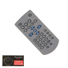 RCA PORTABLE DVD BLUE GRAY Remote Control w/Battery-1 Year Warranty