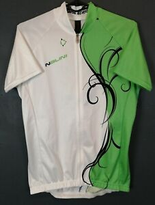SHIRT NALINI ITALY WOMEN'S LADY CYCLING BICYCLE JERSEY MAGLIA MAILLOT SIZE L 4