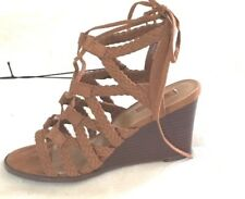 forever 21 shoes wedge/low, style name co-shabu shabu color tan size 6