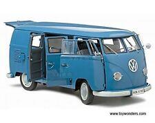 1:12 SUNSTAR VW Bus T1 - 1957 FAMILIARE - Blu - CON CERTIFICATO