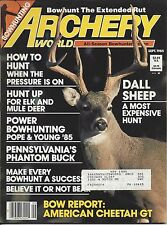 ARCHERY WORLD Magazine September 1985 Bowhunting for Elk and Mule Deer