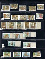 China Taiwan 1994 ~1998  Paper, Silk, Porcelain, Ship Making Full Stamp x 5 天工造物