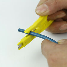 Yellow Wire Stripper Knife Crimper Pliers Crimping Tool Cable Cutter Classy