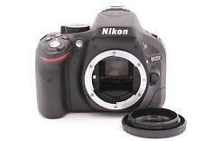 Nikon D D5200 24.1MP Digital SLR Camera - Black (Body Only) - Shutter Count: 578
