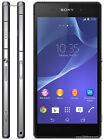 New Sony Xperia Z2 D6503 - 16GB - Black (Factory Unlocked) Smartphone