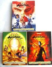 AVATAR The Last Airbender The Complete Book Collection 1, 2, 3 DVD (16-Disc)