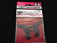 Tamiya 40518 TamTech-Gear GB-01 Carbon Damper Stay (Rear)