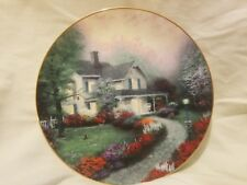 Set of 6 Thomas Kinkade plates. Home Is Where The Heart Is Collection.