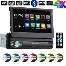 Android 6.0 1 Din 7Pollic 1080P 4K BT Navigazione satellitare Auto GPS USB WIFI