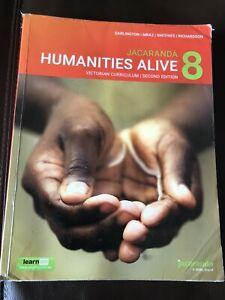 Jacaranda Humanities Alive 8 (Victorian Curriculum/2nd Edition)
