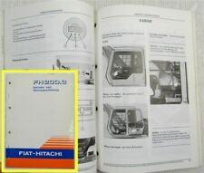 Fiat Hitachi FH200.3 Bagger Betriebsanleitung Bedienungsanleitung Wartung 1993