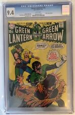 GREEN LANTERN #78 - CGC 9.4 - BLACK CANARY BEGINS - WHITE PAGES